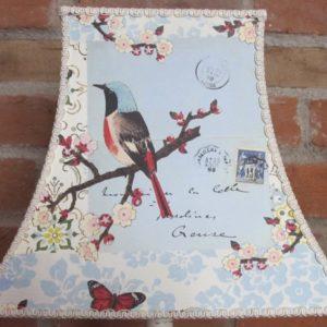 Vintage Bird Lampshade