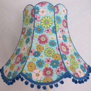 Large Flower Lampshade